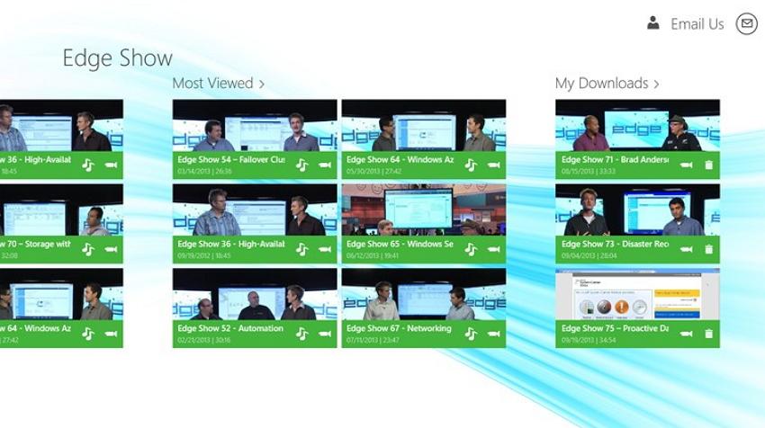 приложение TechNet Edge Show
