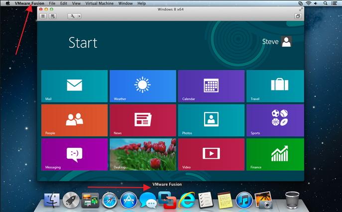 программа программа VMware Fusion