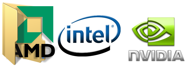 материнские платы AMD, Intel, NVIDIA