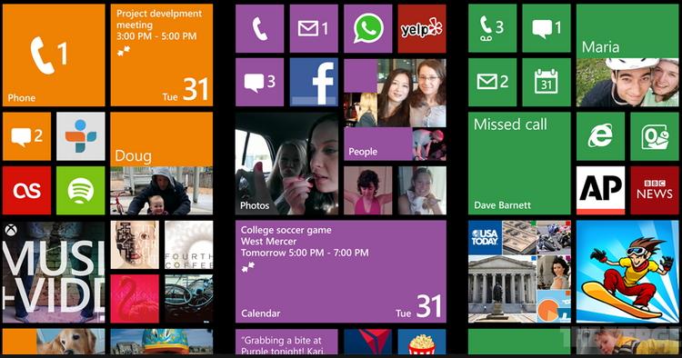 интерфейс windows 9