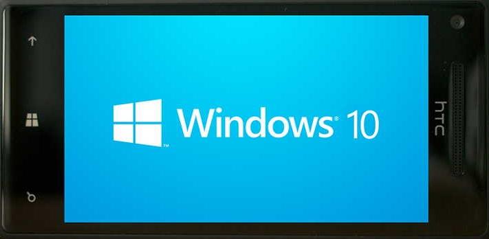 windows 10 smartfon