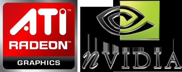 производители видеокарт ATI и NVIDIA