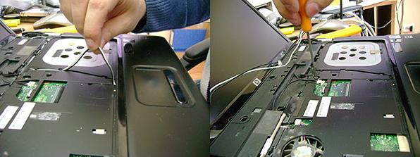 разборка и чистка клавиатуры ноутбука