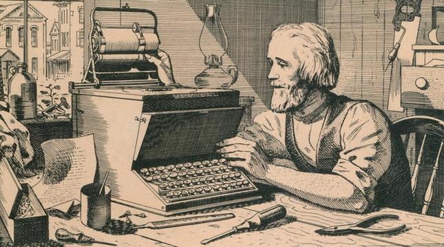 история развития клавиатуры