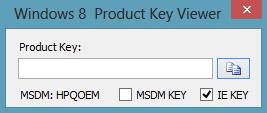 windows 8 ключ