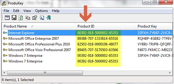 Лицензионный ключ Microsoft